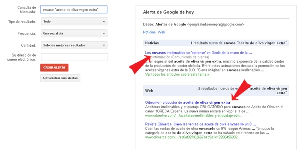Cómo Poner Alertas en Google