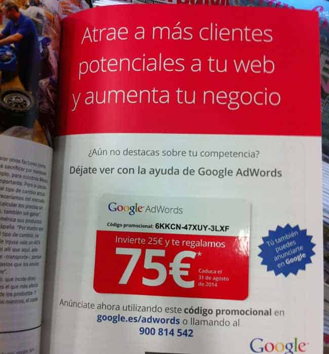 marketing directo google