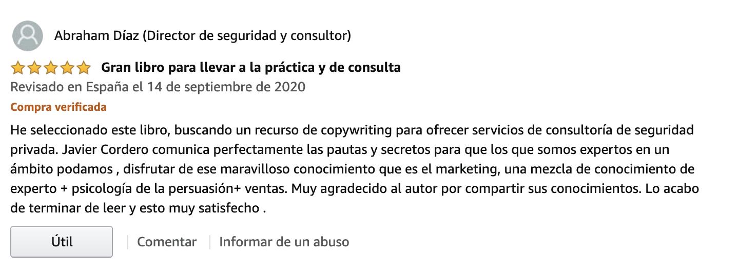 Copywriting Para Consultores | Javier Cordero