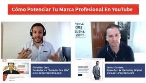 Christian Cruz te explica cómo potenciar tu marca profesional en YouTube