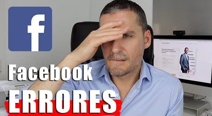 5 Errores a evitar en Facebook si quieres atraer clientes