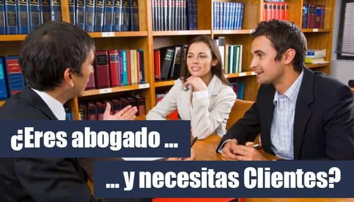 como conseguir clientes abogado