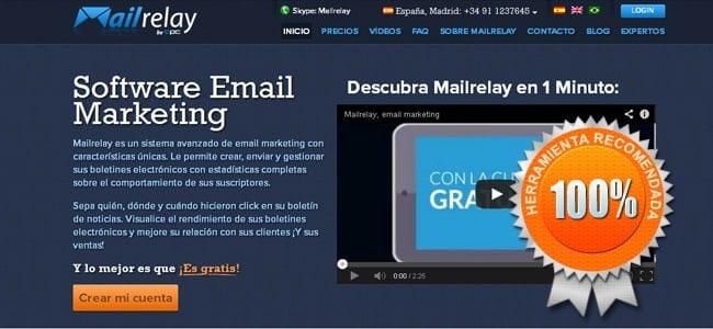 como enviar correos masivos gratis