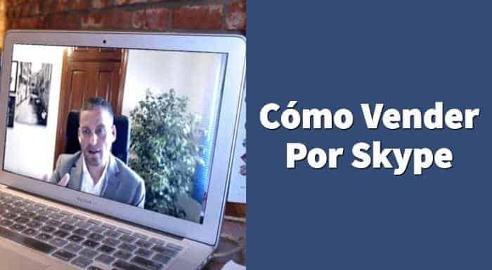 cómo vender por skype