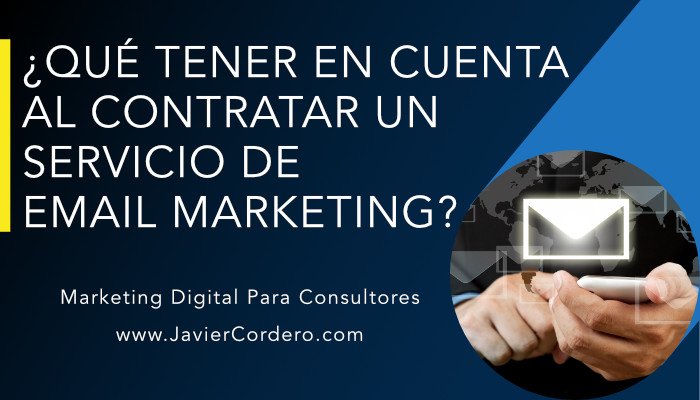 contratar servicio email marketing