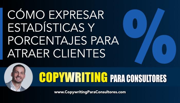 copywriting estadisticas porcentajes