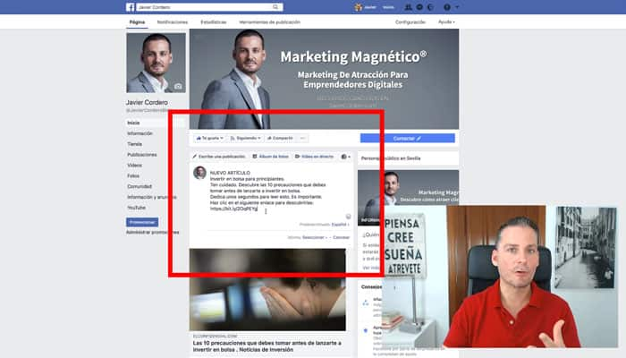 copywriting para facebook