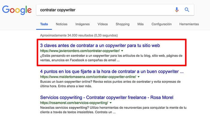 copywriting seo