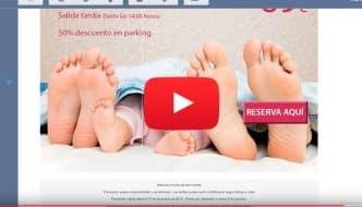 Caso práctico. Ejemplo de mailing comercial y promocional para hoteles. Aciertos y errores