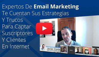 5 Expertos de email marketing te desvelan sus estrategias y trucos para captar suscriptores y clientes en Internet