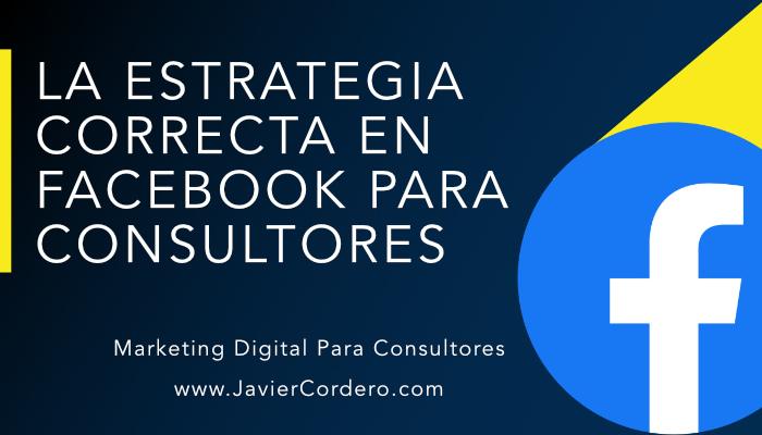 facebook para consultores