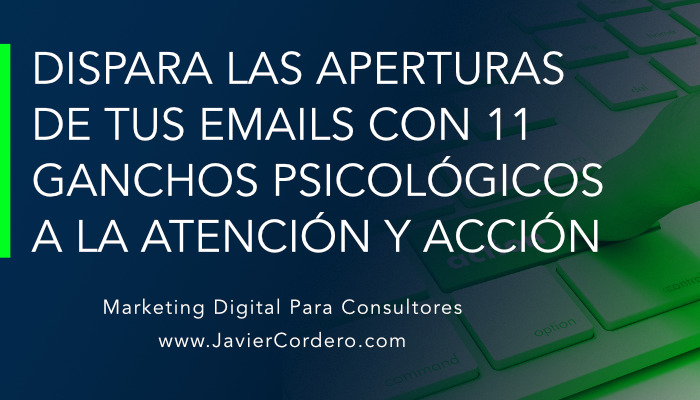 ganchos asuntos email marketing