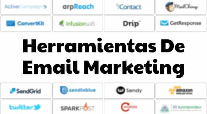 Listado de Plataformas de email marketing del mercado