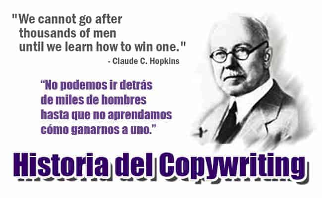 historia del copywriting Claude Hopkins