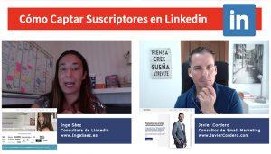 Entrevista a Inge Sáez. Cómo captar suscriptores en Linkedin
