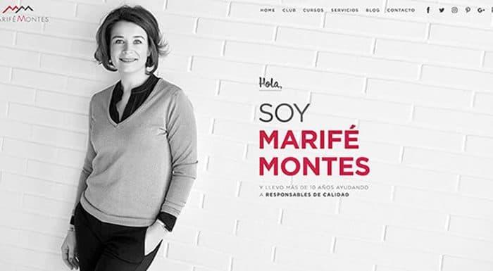 Testimonio de Marifé Montes