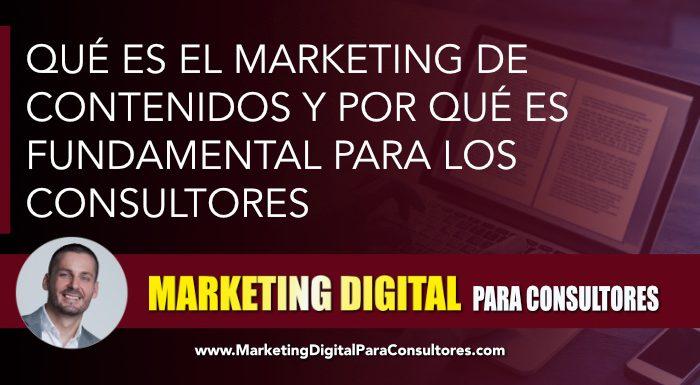 marketing contenidos consultoria