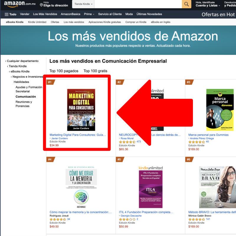 Libro Marketing Digital Para Consultores