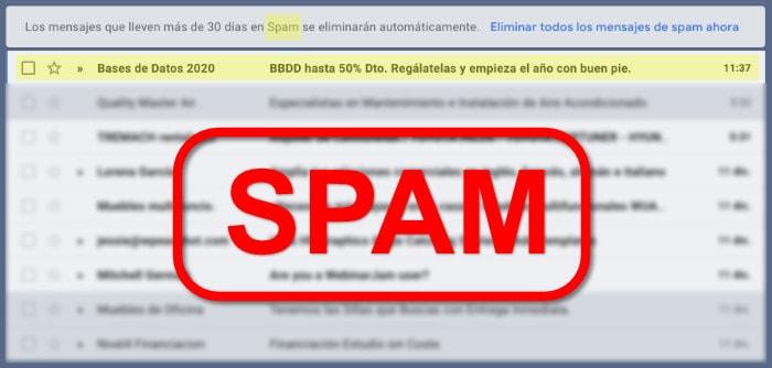 ¿Deberías comprar bases de datos a terceros o podrías acabar tachado de SPAM?