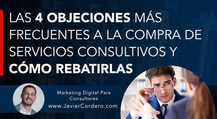 objeciones compra servicios consultoria