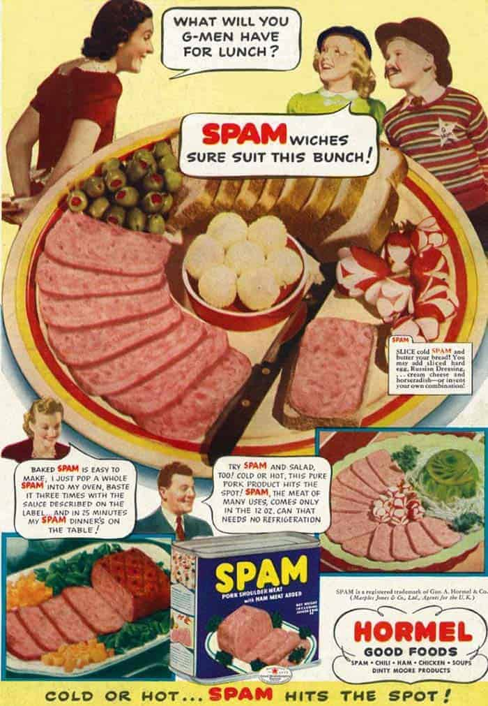 origen palabra spam