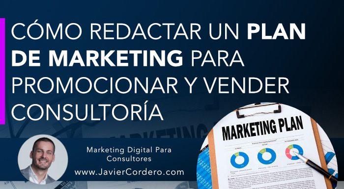 plan marketing consultoria