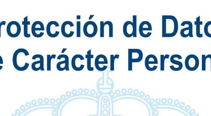 reglamento de protección de datos de carácter personal