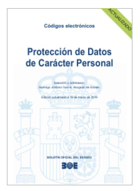 ¿Dónde conseguir el reglamento de protección de datos oficial para España?