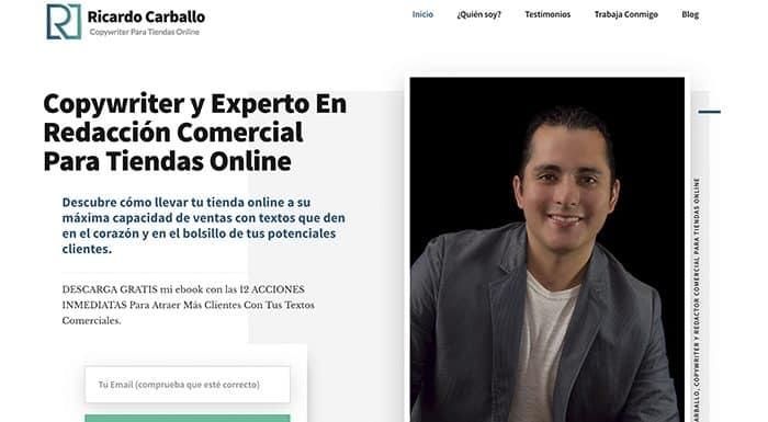 Testimonio de Ricardo Carballo