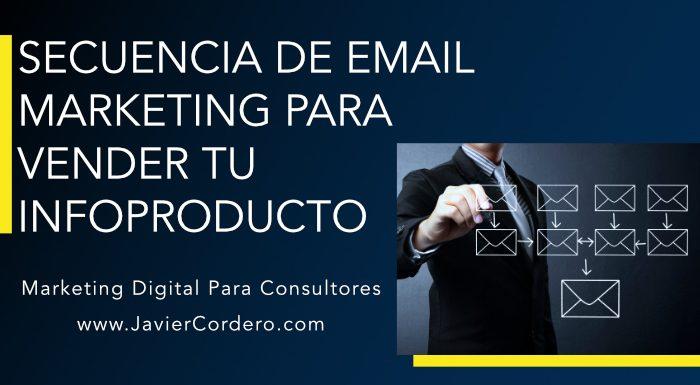 secuencia email marketing para vender tu infoproducto