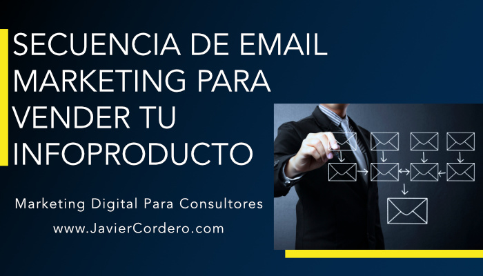 secuencia email marketing para vender tu infoproducto